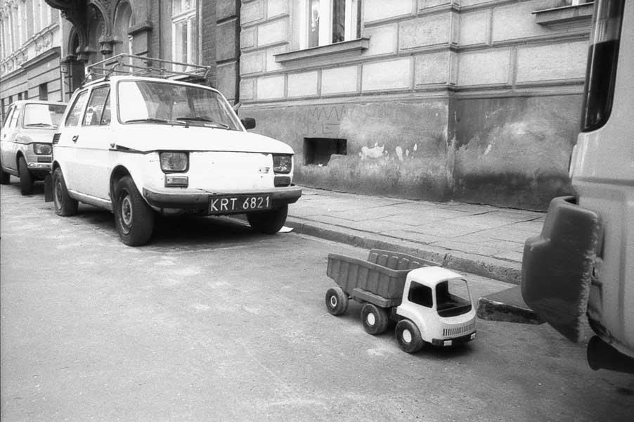 Polish cars (Warsaw, Poland)